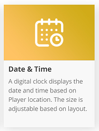 Date & Timeアイコン