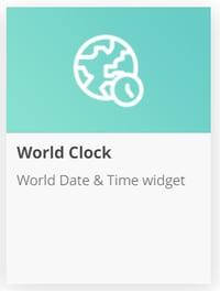 World Clockアイコン